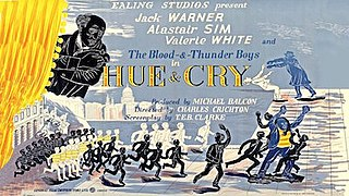 <i>Hue and Cry</i> (film) 1947 film by Charles Crichton