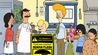 Human Flesh 1st episode of the first season of Bobs Burgers