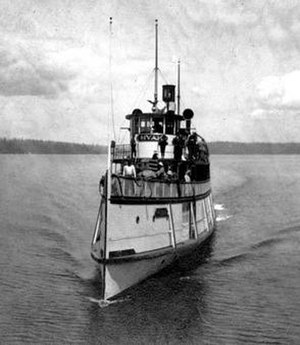 Hyak (steamboat 1909) - Image: Hyak (steamboat 1909)