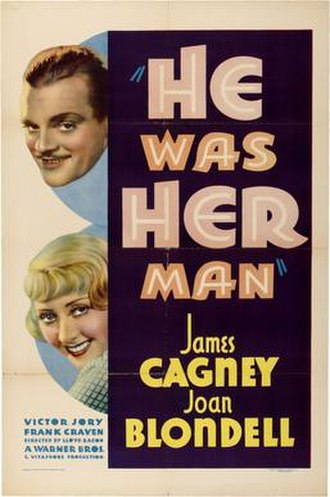 He Was Her Man - Theatrical release poster