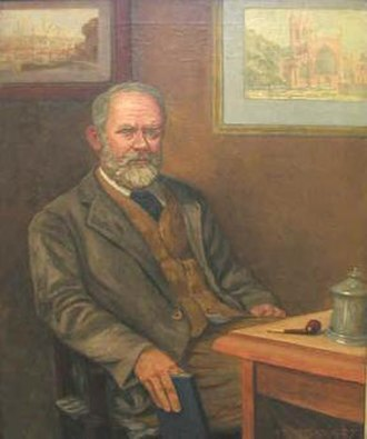 James Hall (historian) - James Hall, in a portrait by his son, Walter J. Hall
