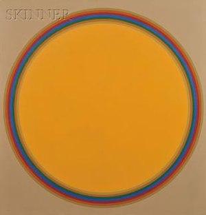 John Stephan - Image: John stephan circle number 5 1982