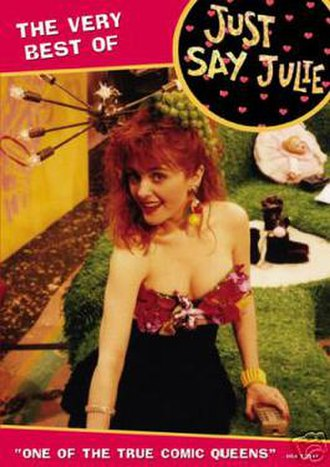 Just Say Julie - DVD cover for Just Say Julie