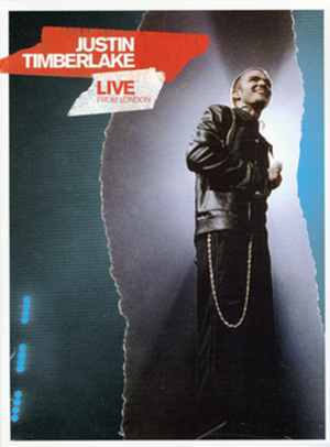 Justin Timberlake: Live from London - Image: Justin Timberlake Live from London