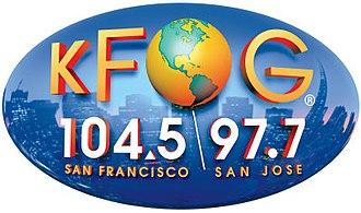 KFOG - Logo, 2006-2015