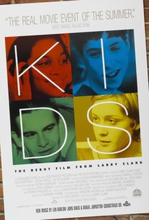 <i>Kids</i> (film) 1995 film by Larry Clark
