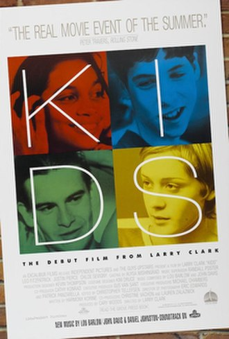 Kids (film) - French release poster
