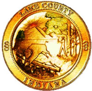 Lake County, Indiana - Image: Lake County in seal