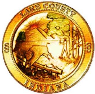 Lake County, Indiana - Image: Lake County in seal