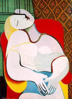 <i>Le Rêve</i> (Picasso) Le Rêve is a 1932 oil painting by Pablo Picasso