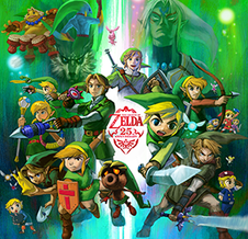 Link (<i>The Legend of Zelda</i>) the main character of The Legend of Zelda video games created by Shigeru Miyamoto