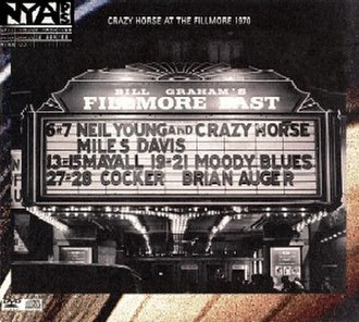 Live at the Fillmore East (Neil Young album) - Image: Live at the Fillmore East
