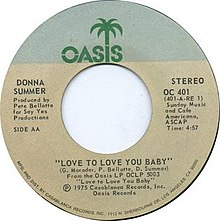 Love to Love You Baby (song) - Wikipedia