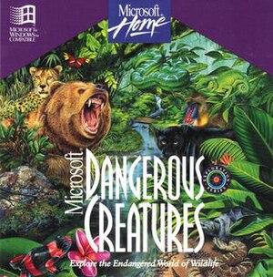 Microsoft Dangerous Creatures - Image: MS Dangerous Creatures CD Cover art