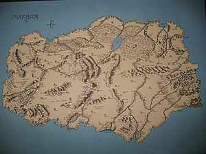 Mafrica - Jack Scruby's map of Mafrica