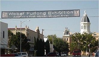 Wilhelmina Weber Furlong - Marfa, Texas Chinati Weekend, 2012, Marfa, Texas
