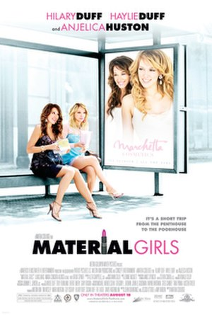 Material Girls - Theatrical release poster