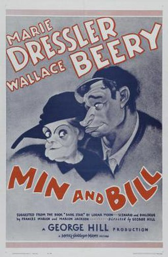 Min and Bill - 1930 re-release poster