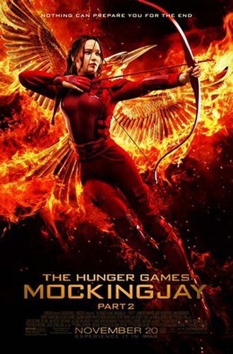 The Hunger Games: Mockingjay – Part 2 - Theatrical release poster