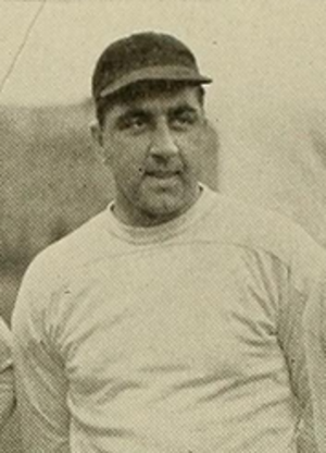 Moody Sarno - Sarno pictured in Sub Turri 1944, Boston College yearbook