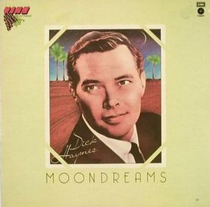 Moondreams (Dick Haymes album) - Image: Moondreams cover