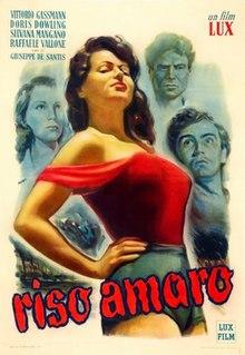 <i>Bitter Rice</i> 1950 film by Giuseppe De Santis