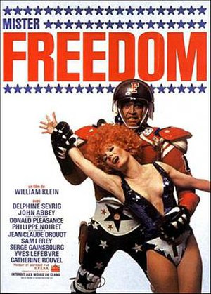 Mr. Freedom - Film poster