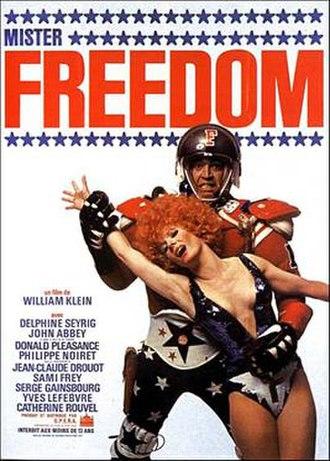 Mr. Freedom - Film poster