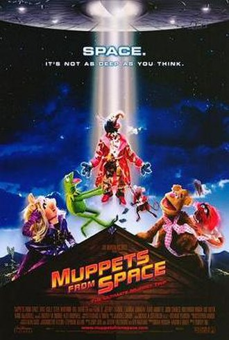 Muppets from Space - Theatrical release poster