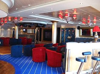 Norwegian Dawn - Image: NCL Dawn Dazzles Lounge