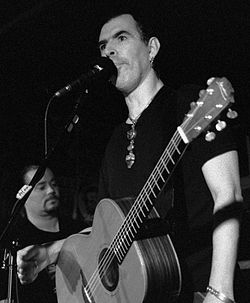 Justin Sullivan and Friends (New Model Army) playing at The Cobalt Hotel, Vancouver, BC, Canada