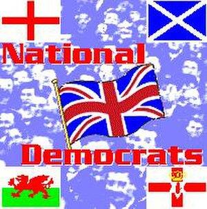 National Democrats (United Kingdom) - National Democrats logo