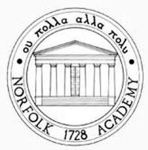 Norfolk Academy - Image: Norfolk academy logo bw