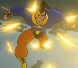 "OMAC (Buddy Blank) - OMAC from Batman: Brave and the Bold episode ""When OMAC Attacks."""