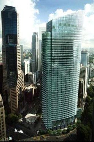 Ocean Financial Centre - Image: Ocean Financial Centre artist impression