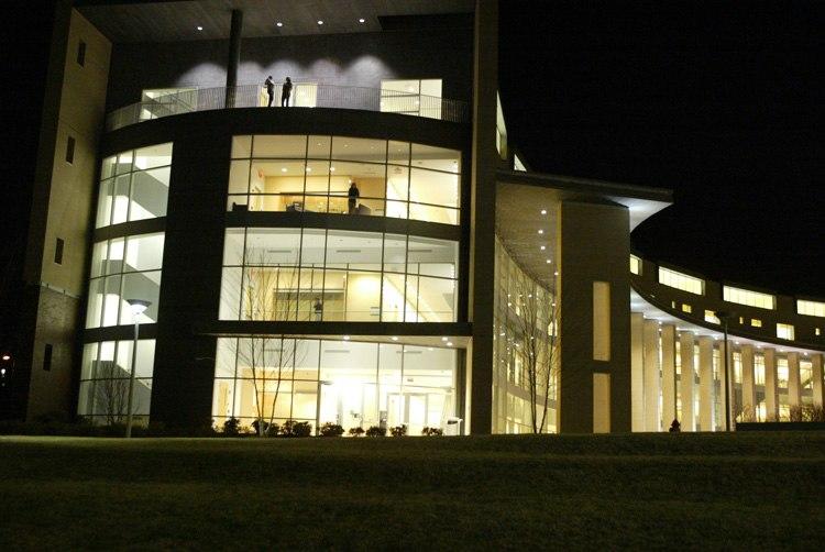 Olin College at Night