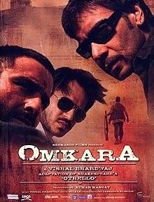 Omkara (2006) SL DM -  Ajay Devgan, Saif Ali Khan, Vivek Oberoi, Kareena Kapoor,  Naseeruddin Shah, Konkona Sen Sharma and Bipasha Basu