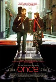 <i>Once</i> (film) 2006 film by John Carney