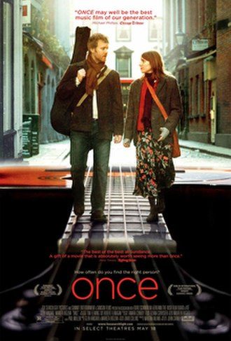 Once (film) - US release poster