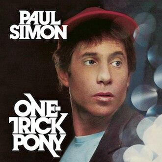 One-Trick Pony (album) - Image: Onetrickpony
