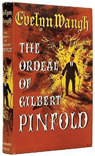 <i>The Ordeal of Gilbert Pinfold</i> autobiography story of Evelyn Waugh