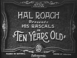 <i>Ten Years Old</i> 1927 film