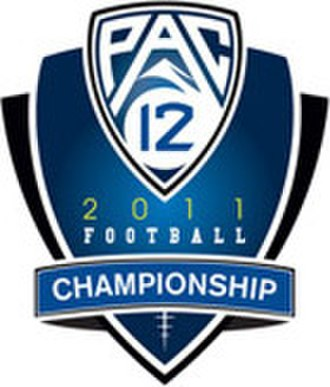 Pac-12 Football Championship Game - Image: Pac 12 Football Championship 2011 logo