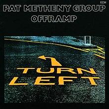 A rodar X                          - Página 6 220px-Pat_Metheny_Group-Offramp_%28album_cover%29