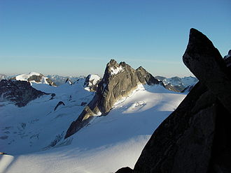 Pigeon Spire - Pigeon Spire from the Kain Route