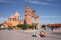 Main Plaza in Tequisquiapan