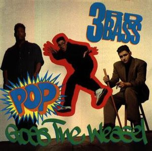 Pop Goes the Weasel (3rd Bass song) - Image: Pop Goes the Weasel cover