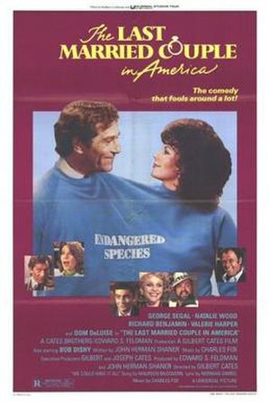 The Last Married Couple in America - Image: Poster of the movie The Last Married Couple in America