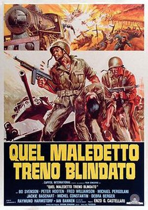 The Inglorious Bastards - Italian film poster for The Inglorious Bastards