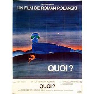 What? (film) - Original film poster